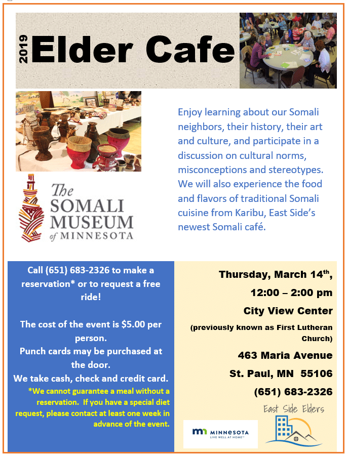 March Elder Cafe – Somali Museum