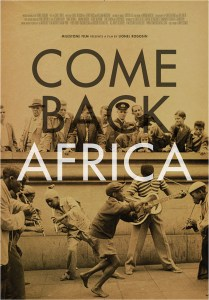 Come Back Africa film poster