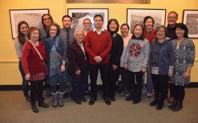 """Twin Cities JACL co-sponsors a photographic exhibition on the wartime incarceration of Japanese Americans"" by Cheryl Hirata-Dulas"