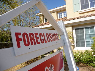 Foreclosures on decline