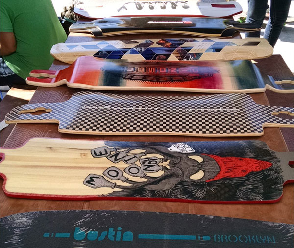 Some of the board prizes.
