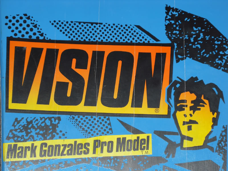 Mark Gonzales 1986 Model - Vision Skateboards