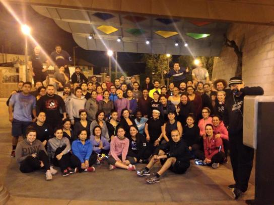 Boyle Heights Bridge Runners