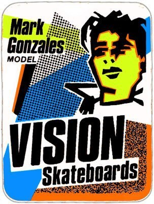 Mark Gonzales Vision Skateboards