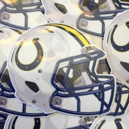 L.A Wilson Mules Football Helmet