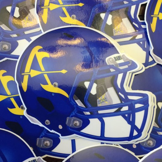 Bishop Amat Football Helmet