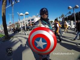 WonderCon Los Angeles 2016 - Captain America