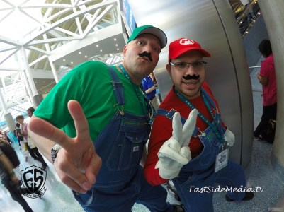 WonderCon Los Angeles 2016 - Mario Bros