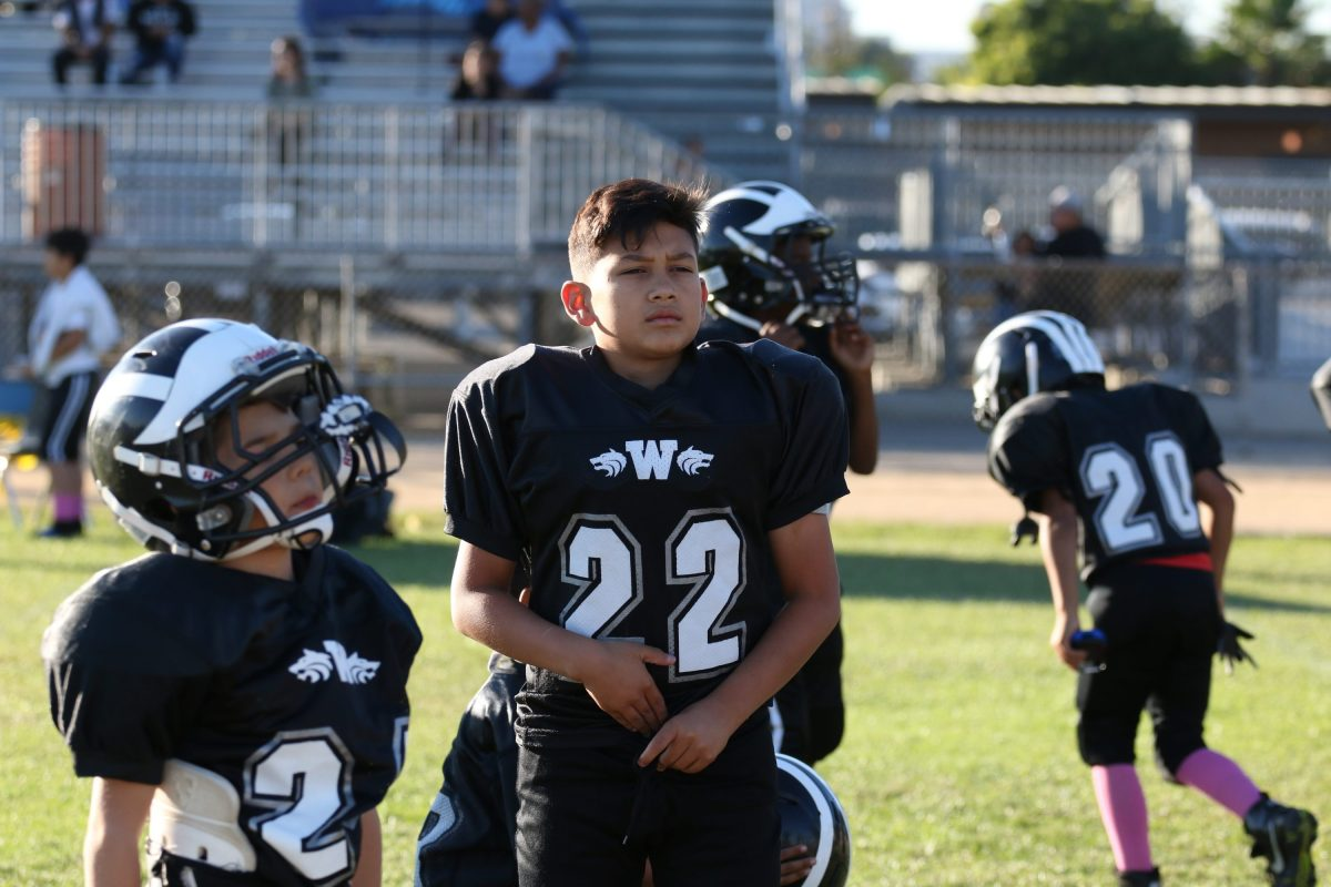Devin Martinez #22 RB/DE - 10 Years Old - Boyle Heights Wolfpack Gremlin Division Highlights 2018