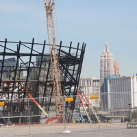 Raiders' new stadium in Las Vegas almost complete