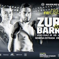July 9: Golden Boy Promotions presents Zurdo vs. Barrera