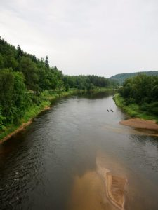 Gauja Nationalpark Fluss Gauja