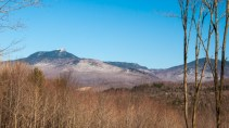 Camel's Hump and Wind Gap from Ross Hill Road in Huntington.