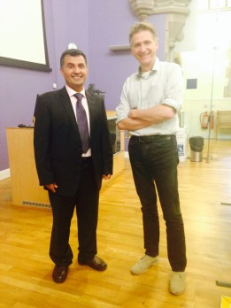 Dr Nazmi and Bill in Glasgow June 2015
