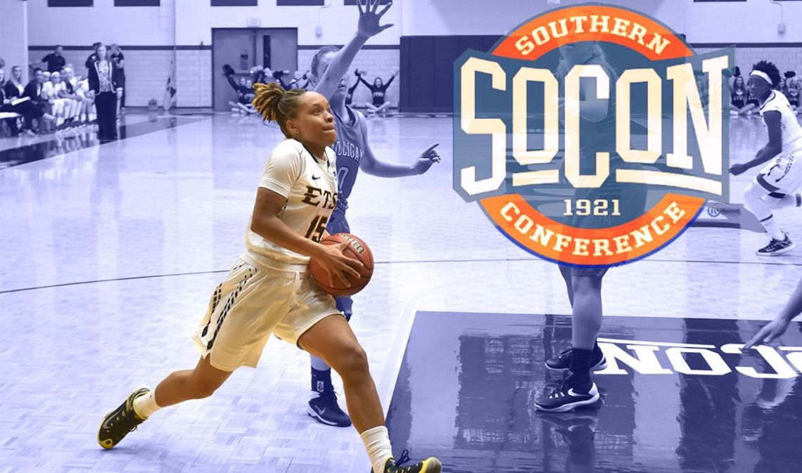 Tianna named SoCon player of the week on Tuesday, Jan. 19. (Photography by: ETSUBucs.com)