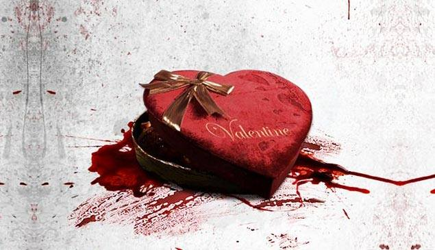 celebrating valentine's day with gore in lieu of romance | east, Ideas