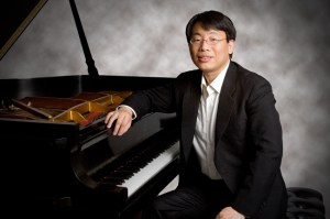 ETSU Associate Professor of Music Chih-Long Hu will join violinist Kuan Cheng Lu on piano. Photo by: Contributed