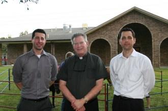 Peter Morrell, Fr. Paul, John Morrell