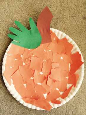 Easy Pumpkin Craft for young children