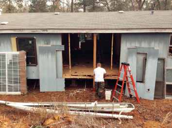 A New Backside - Manufactured Home Reno
