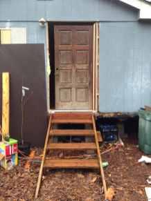 the new front door is going in