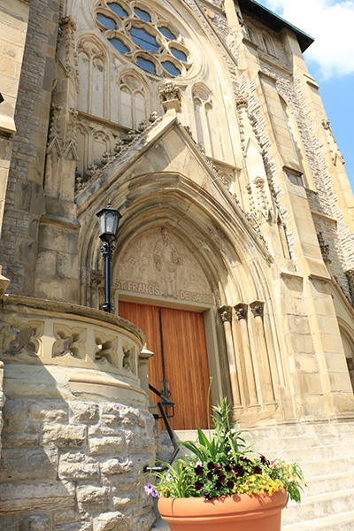 St. Francis DeSales Catholic Church in East Walnut Hills, Cincinnati