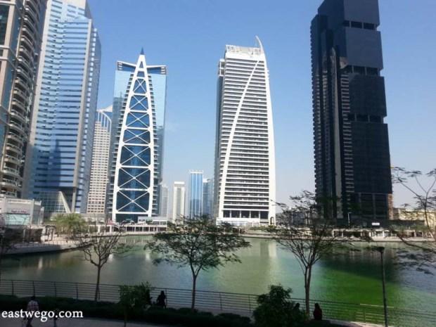Jumeirah Lakes Towers, JLT