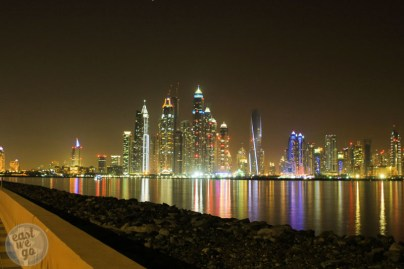 Dubai Marina from Palm Jumeirah