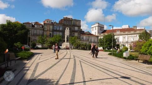 Porto - Praça Carlos Alberto