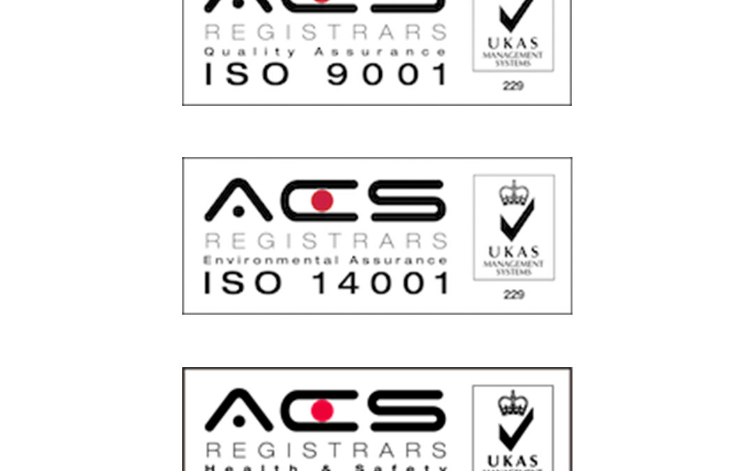 ISO Accrediation Renewed