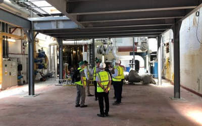Boilers Delivered at University of Sussex