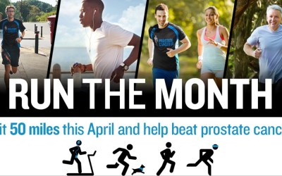 Run The Month – Prostate Cancer UK