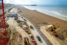 Brighton i360 – aerial view