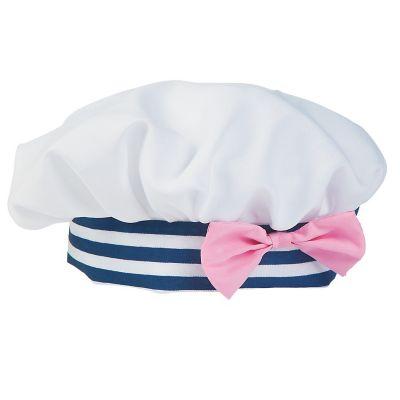 Girls Nautical baby hat