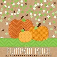 Fall Pumpkin baby shower supplies