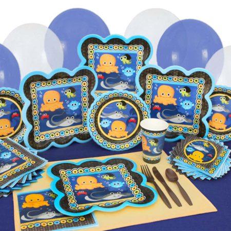 under sea animals baby shower theme