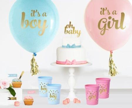 DIY baby shower dessert table decorations