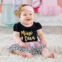 chic diva baby girl outfit
