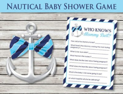 Nautical baby shower game download
