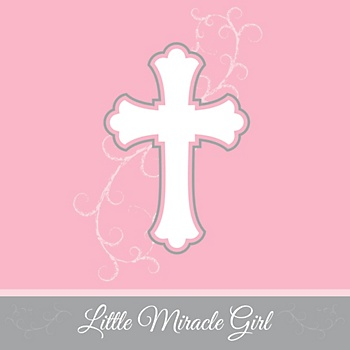 Miracle girl Christian baby shower theme