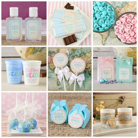 welcome to world baby shower supplies