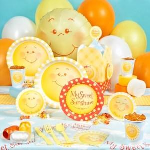 Sun Summer baby shower theme