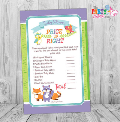 Digital Forest animals prince is right party game