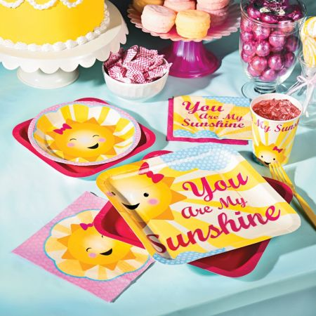 You are my sunshine Summer baby shower theme