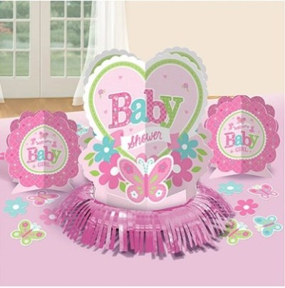 Butterfly baby shower centerpieces confetti kit