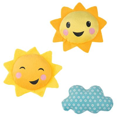 Sunshine plush baby shower decorations