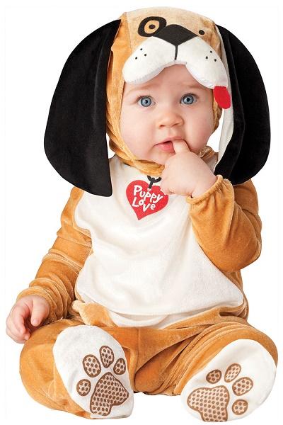 Puppy dog baby costume