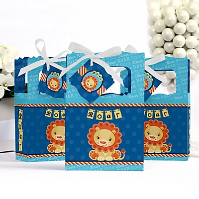 lion king baby shower favor boxes