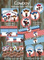 DIY Cowboy baby party decorations