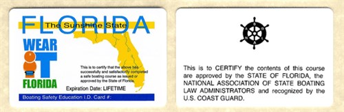 Boat Operator Certification